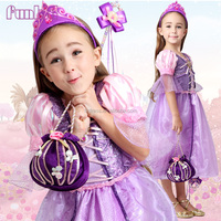 OEM and in store wholesale girls rapunzel princess costume