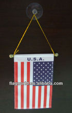USA small gift hang flag