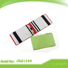 Leather Card Holder Golf Scorecard Holder Score Card Holder For Golf