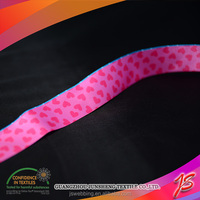 Verified transparent silk ribbon