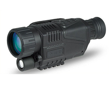 Infrared night vision scope distance from 5m - 200M zoom 5x, IR light and 5MP digital camera video in 640x480 is CCD
