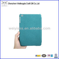 2013 Blue New Arrival Stand Leather Case For Ipad Mini With Factory Price