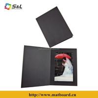 Wholsale top quality papper photo folder with 1pcs photo frame