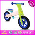 2015 caliente venta de la alta calidad de la bicicleta de madera, Popular de madera de la bicicleta, Nueva moda niños de bicicletas W16C095-2