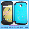 pc silicone cover 3in1 design mobile phone case for MOTO E LTE