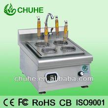 Eco- ambiente cuatro agujeros de inducción cocedores de pasta/comercial cocina de pasta