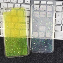 New Arrival Colorful Glitter Star Bling Bling TPU Soft Case for iphone 6
