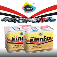 KINGFIX Brand high gloss auto paint varnish for sale