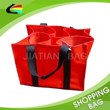 Promotioanl Nonwoven Recycled 6 packs Wine Bag