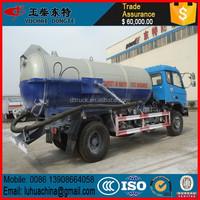 9cbm vacuum sewage suction truck street cleaning truck vacuum truck sale