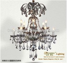 2012 latest prmotion : Royal empire classical crystal chandelier with K9 crystal drops,Meerosee china chandelier manufacturer