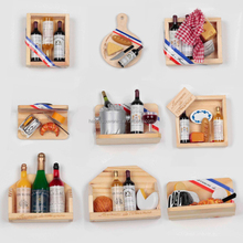 customize cute wood fridge magnet and toy for wholesale