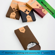 Wholesale cardboard chocolate bar packaging box