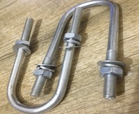 U Type Bolt (could With Nut),Galvanized Or stainless steel
