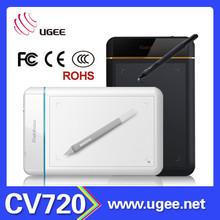 Ugee CV720 8x5 inch 2048 levels pressure sensitivity computer writing pads