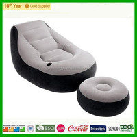 Hot Sale high quality Inflatable flocked lounge sofa