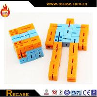 Small magic plastic cube toys robot