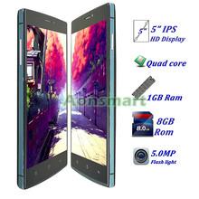 "Stylish Ultra slim 5"" QHD Quad Core 1GB Ram 8GB Rom android phone M9"