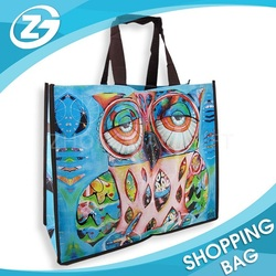 Factory Hot Sale Eco Foldable High Quality Promotional Printed Reusable Colorful Custom PP Non Woven Shopping Bag