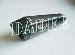 Motorcycle racing/superbike Round Hexagonal Carbon Fiber Muffler for Benelli