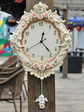Large Environmental protection paint resin wall clock NO.052