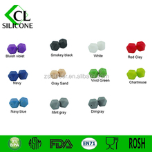 17 Color silicone teething beads pendant for jewelry/ necklace
