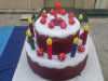 Amazing Inflatable Birthday Cake For Party