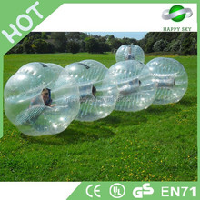 High quality best sale PVC or TPU Dia 1.2m/1.5m/1.7m giant human bubble ball, body bubble ball