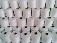 100% polyester ring spun yarn Ne 20/1, 20/2, 30/1, 30/2, 40/1, 40/2,..