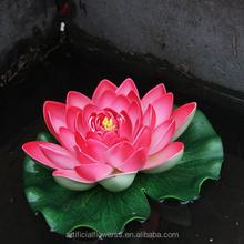 2015 hot artificial foam PVC lotus flower