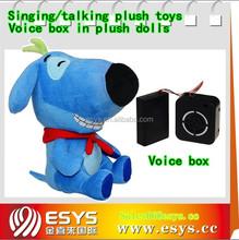 Hot sale animated electronic plush dog toys for sale