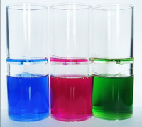 Wholesale Acrylic Sand Hourglass, Liquid Oil Timer, Liquid Hourglass Timer