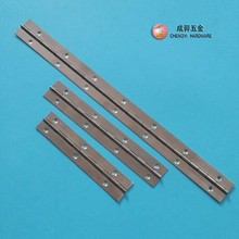 CYA607 stainless steel 201 piano hinge for boxes