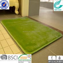 WX CCF BRAND 100% polyester memory foam bath mat