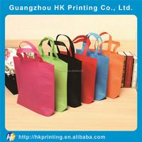 high-capacity non-woven colorful shopping bag custom retail bags