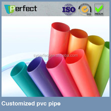 Solid PVC underground water pipe