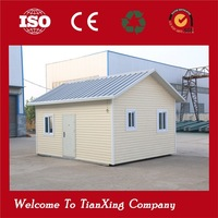 Fashionable cheap prefab house bamboo