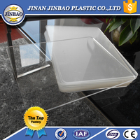 2015 hot selling acrylic clear plastic panels for advertising acrylic display
