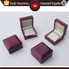 Polished high quality wood pearl earring pendant necklace earing jewellery gift box