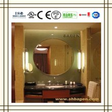 Bagen bathroom fog free mirror(ISO9001,CE, UL, ROHS, SAA, PSE,TUV ), 16 years supply for hotels
