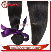 Soft touch full cuticle knot free silky remy hair extension brazilian hair/indian hair/malayzian hair
