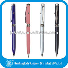 2014 Multifunction metal ballpoint led or Red Laser Pointer Pen