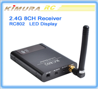RC802 FPV Boscam camera 2.4G A/V receiver W/Channel FPV receiver Digital number 5.8Ghz FPV for professional drones with rc toys