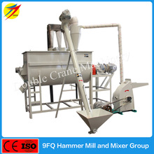 High quality cow feed crushing and mixing machine for sale