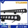 Y&T 2015 new hot product aluminum housing led light bar, battery powered led light bar 4WD auto parts LED light bar for TOYOTA