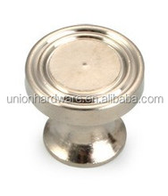 Classical european zinc alloy cabinet knob with chrome polished