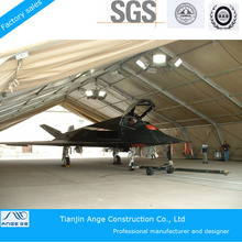 2015 CE ,SGS ,TUV cetificited aluminum alloy frame and PVC fabric hangar tent