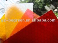 PC honeycomb sheet, PC alveolate panel, plastic sheet