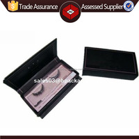 Private label custom false eyelash packaging box with custom logo printed