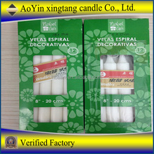 10pcs Cheap White Candle Religious candle in plastic bag